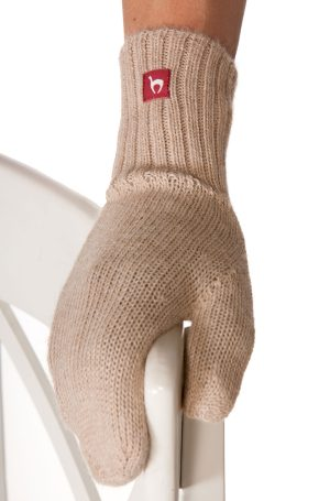 Fausthandschuh Farbe beige